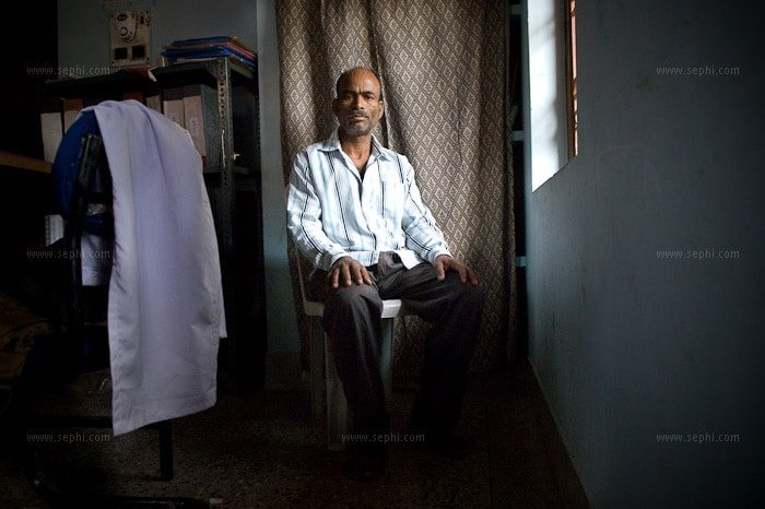 Bipin Das (42) is an HIV+ truck driver. He now receives the HIV pension thanks to the advocacy of UNDP as part of the HIV mainstreaming project, and uses the money to travel for his ARV treatment.