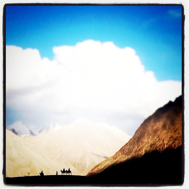 iPhone photography in Ladakh - Nubra valley