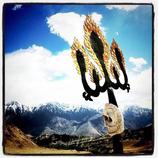 iPhone photography in Ladakh - Likir