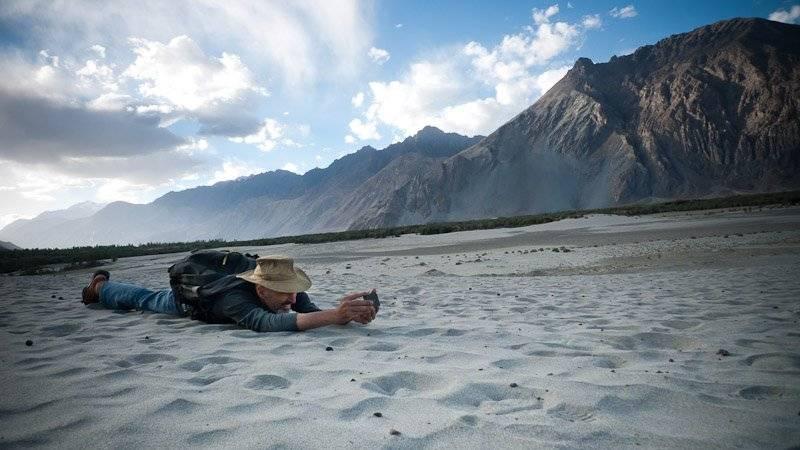 iphonography in Ladakh, Nubra valley