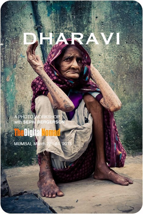 A documentary photography workshop in India. Dharavi, Mumbai 2013