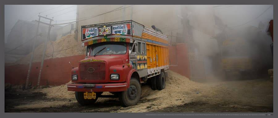 Horn Please Trucks and Trucking in India