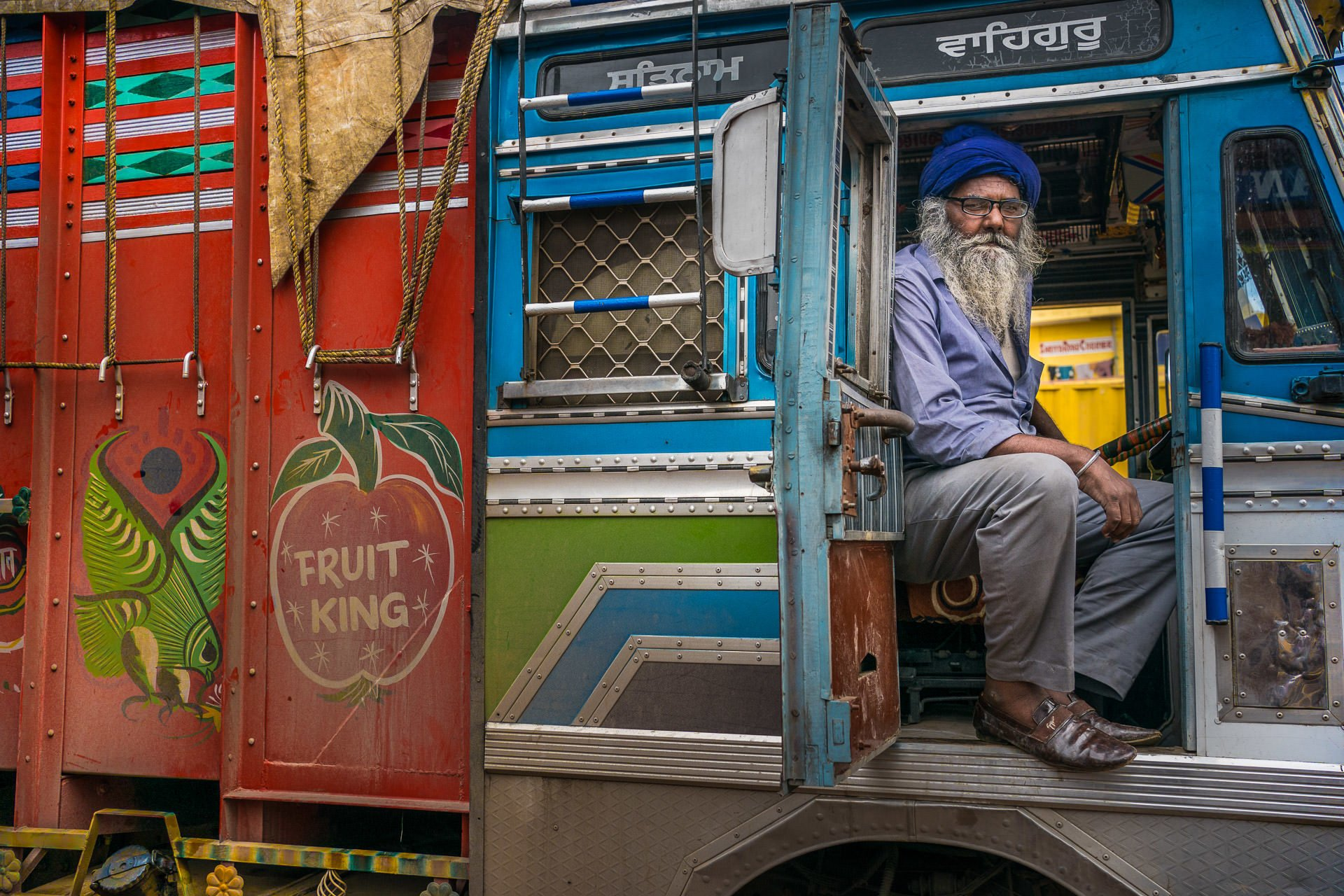 Trucking in india | Eye Camps for Indian truck drivers